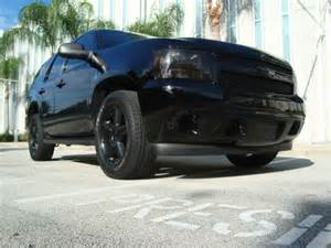 Chevy Tahoe with Black Rims