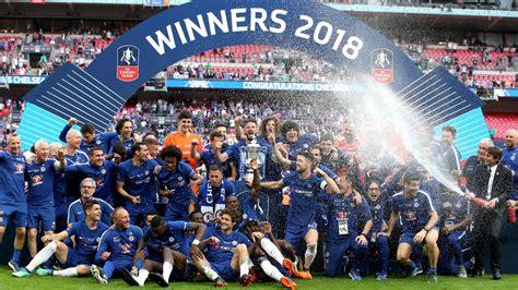 Englischer Garten Berlin Wm 2018 by Sieg 252 Ber Manchester United Fc Chelsea Holt Den Fa Cup