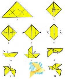 Simple Origami Dove