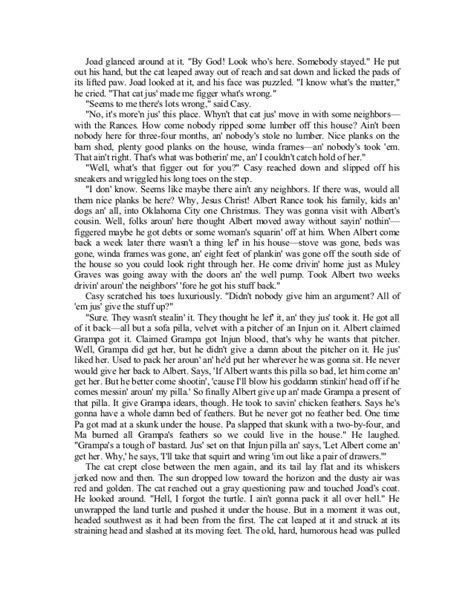 An Ideal Husband Analysis Essay by Tom Joad Grapes Of Wrath Descriptive Essay Ghost Of Tom Joad