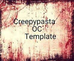 creepypasta oc template creepypasta oc template space amino