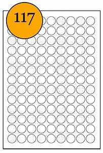 Round sticky a4 printer circle labels 75 x 50mm diameter for Circle printer labels
