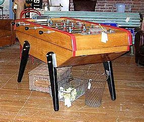 vintage french baby foot monzini foosball table item