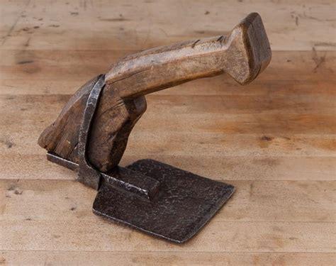 beautiful  century hand adze jim bode tools