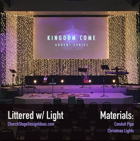 Church Stage Backdrop by Littered W Light Stage Designs Church Stage Design