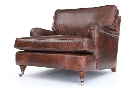 snuggle chair howard snuggler vintage leather snuggler from boot sofas
