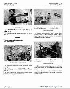 John Deere 410 Backhoe Loader Tm1037 Technical Manual