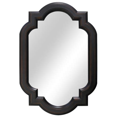 Home Decorators Collection Vanity by Home Decorators Collection 22 Inch Trefoil Framed Mirror