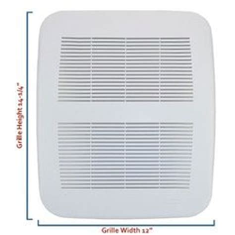 Nutone Bathroom Fan Replacement Grille by Nutone Products Nutone 8812 Replacement Grille Assembly