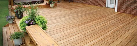 Salt Treated Decking Boards