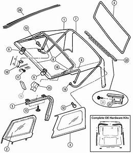 Jeep Interior Parts Diagram