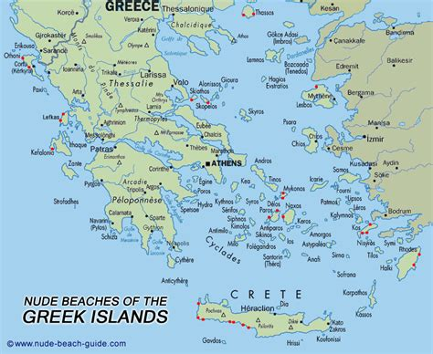 map  greece islands travelquazcom
