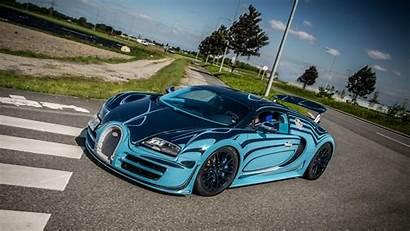 Bugatti Veyron Wallpapers Super Sport Supercar Bleu