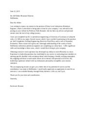 resume cover letter obtaining extensive work experience