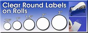 clear round labels sticky clear labels strong clear With clear round sticker labels