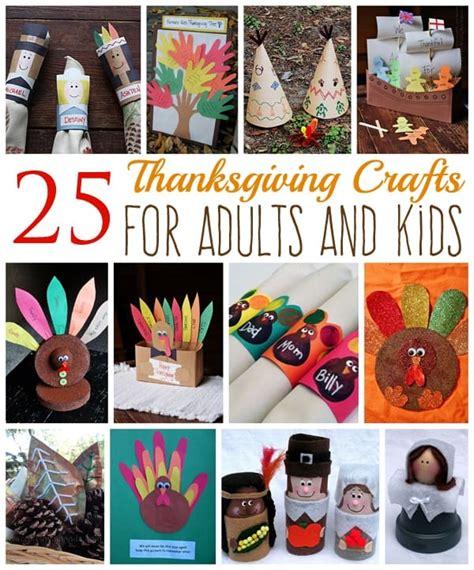 thanksgiving crafts  adults  kids crafts  amanda