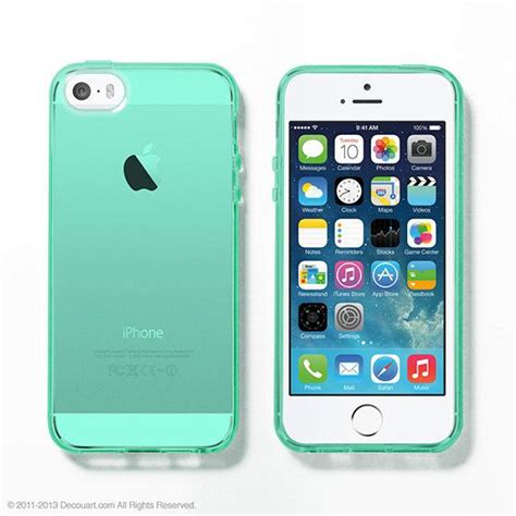 cases for iphone 5s mint soft clear iphone 6 5s iphone 6 cases