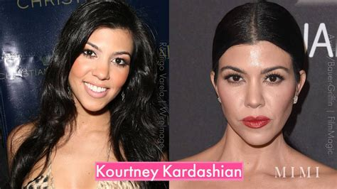 The Kardashian Family: Then and Now - YouTube