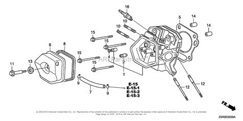 Honda Engines Gxu Qxs Engine Jpn Vin Gcank