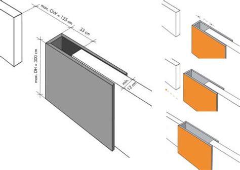 sliding wall door system modern interior space divider