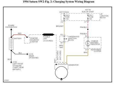 2 Wire Alternator Diagram by The Alternator Has 3 Wires One From Starter Post For Batt