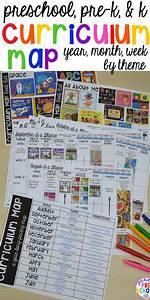 Preschool  Pre-k  And Kindergarten Curriculum Map