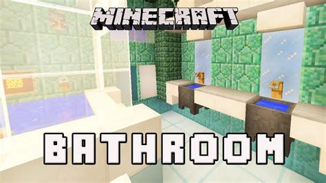 Minecraft Modern Bathroom Ideas by Minecraft Tutorial How To Make A Modern Bathroom Design