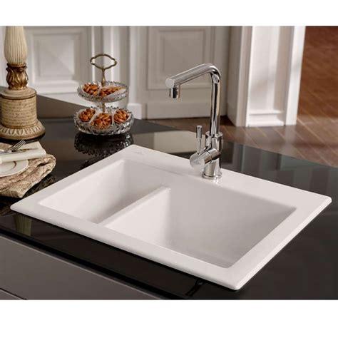 ceramic kitchen sinks and taps villeroy boch subway xm ceramic sink kitchen sinks taps 8092