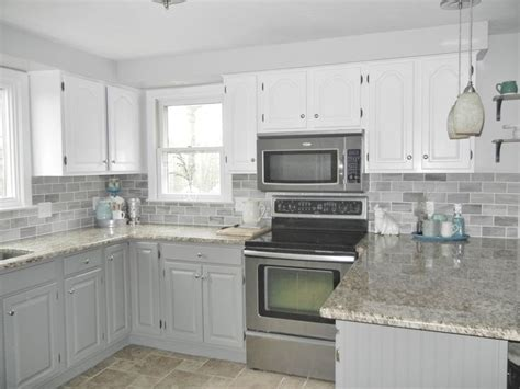 Kitchen Makeover 2000 by Our Oak Kitchen Makeover Grey Travertine And Repose Gray