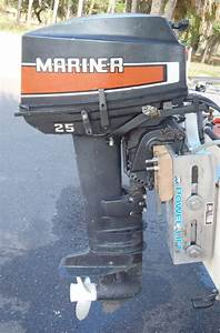 25hp Mariner Outboard Long Shaft Remote Yamaha