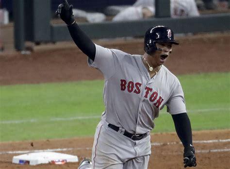 rafael devers steps   big moments  boston red sox