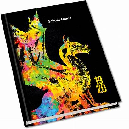 Dragon Yearbook Mascot Covers Standard Previous