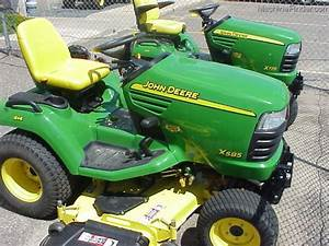 John Deere X585 Lawn And Garden Tractor Service Manual