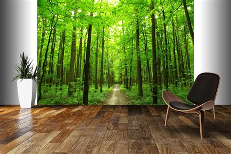 mural captivating wall murals that transform your home from Forest