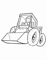 Coloring Pages Dozer Bulldozer Printable Getcolorings Amazing sketch template
