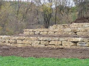 Limestone Retaining Wall - Yelp