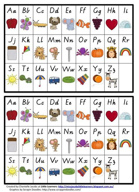 alphabet chart alphabet chart vic modern cursive miss