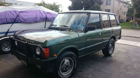 auto air conditioning repair 1993 land rover range rover security system purchase used 1991 range rover classic great condition in mount prospect illinois united states