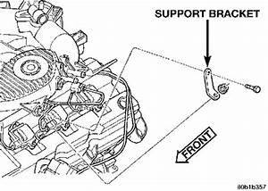 Where Are The Spark Plugs Located On The 1999 Dodge
