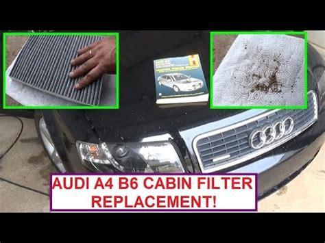 Cabin Air Filter Replacement Audi