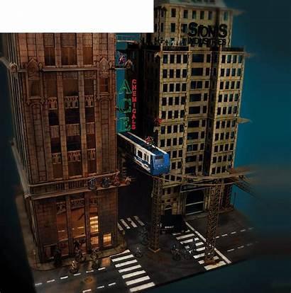 Miniatures Batman Miniature Buildings Inside Massive
