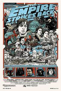 Star Wars: Episode V The Empire Strikes Back by Tyler Stout