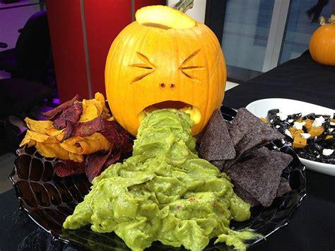 Puking Pumpkin Carving Stencils by ハロウィン前菜 参考になる アメリカや海外のハロウィン料理いろいろ Naver まとめ