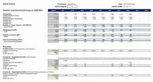 Rendite Lebensversicherung Berechnen : neues excel tool zur pr fung von unternehmensk ufen oder projektinvestitionen fimovi ~ Themetempest.com Abrechnung