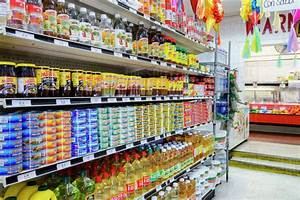 Food, On, Shelves, Of, Grocery, Store, -, Stock, Photo