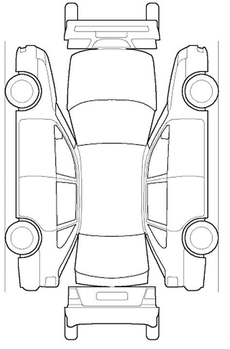 Best Images Commuter Van Damage Inspection Diagram