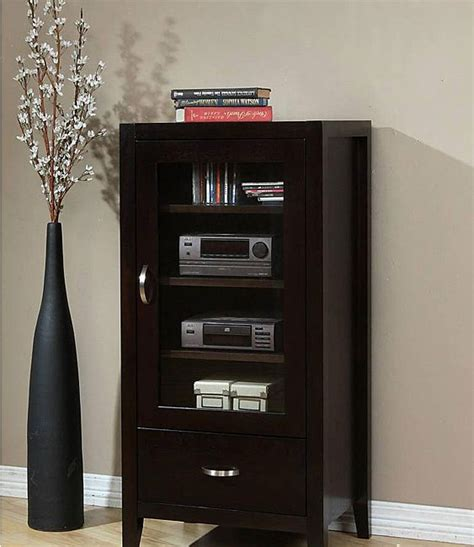 media storage cabinet with glass doors furniture fascinating media cabinet with glass doors for