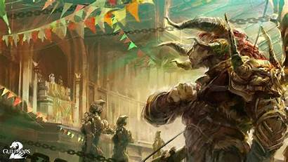 Guild Wars Fantasy Charr Ncsoft Concept Wallpapers