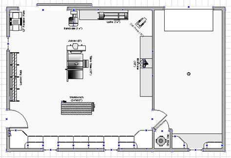 Boat Workshop Plans by S Shop This Shop Plan Available In Visio Format