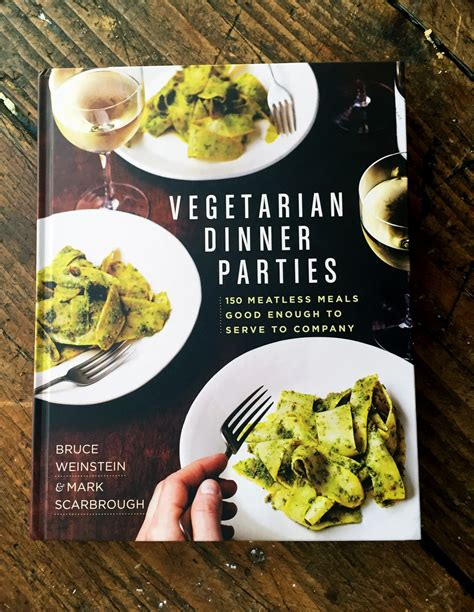 Cookbook Corner Vegetarian Dinner Parties  Cooking Light